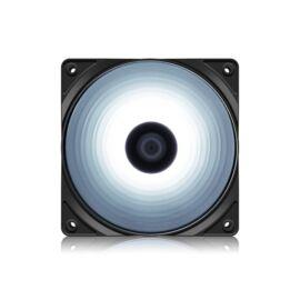 DeepCool Cooler 12cm - RF120W (21,9dB; max. 83,08 m3/h; 3pin csatlakozó; ház hűtésre, fehér LED)