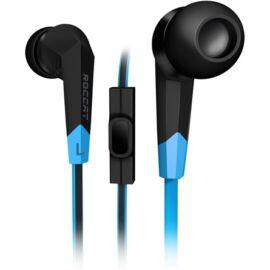 Roccat Syva stereo mikrofonos fülhallgató fekete-kék