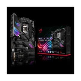 Asus Alaplap - Intel ROG STRIX Z490-E GAMING s1200 (Z490, 4xDDR4 4800MHz, 6xSATA3, 2xM.2, RAID, 8xUSB2.0, 9xUSB3.2)