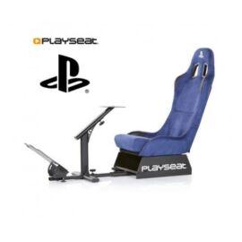 Playseat® Szimulátor cockpit - Evolution PlayStation Edition (Tartó konzolok: kormány, pedál, összecsukható, kék)