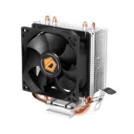 ID-Cooling CPU Cooler - SE-802 (23,3dB; max. 48,76 m3/h; 3pin csatlakozó, 2 db heatpipe, 8cm)