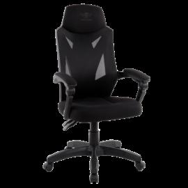 Spirit of Gamer szék - HELLCAT Black (állítható dőlés/magasság; szövet; max.120kg-ig, fekete)