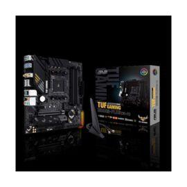 Asus Alaplap - AMD TUF GAMING B550M-PLUS (WI-FI) AM4 (B550, 4xDDR4 4800MHz, 6xSATA3, 2x M.2, Raid, 6xUSB2.0, 8xUSB3.2)