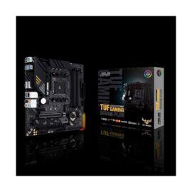 Asus Alaplap - AMD TUF GAMING B550M-PLUS AM4 (B550, 4xDDR4 4800MHz, 6xSATA3, 2x M.2, Raid, 6xUSB2.0, 8xUSB3.2)
