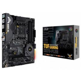 Asus Alaplap - AMD TUF GAMING X570-PLUS AM4 (X570, 4xDDR4 4400MHz, LAN, 8xSATA3, 3x M.2, RAID 4xUSB2.0, 9xUSB3.2)
