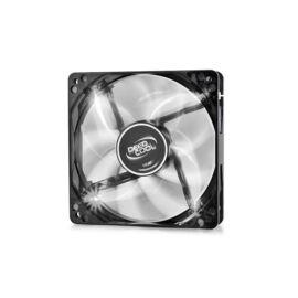 DeepCool Cooler 12cm - WIND BLADE 120 WH (26,6dB; max. 91,15 m3/h; 3pin csatlakozó; ház hűtésre, fehér LED)