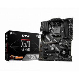 MSI Alaplap AM4 X570-A PRO AMD X570, ATX