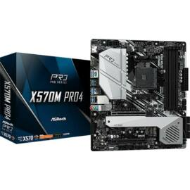Asrock X570M PRO4 desktop alaplap microATX