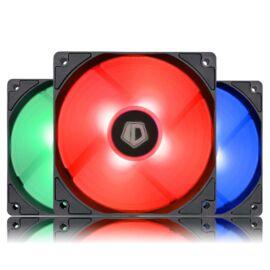 ID-Cooling Cooler 12cm - XF-12025-RGB TRIO (18-35,2dB, max. 126,57 m3/h, 4pin, PWM, LED, 3 darab 12cm)