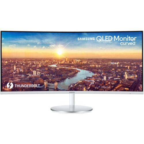 """Samsung C34J791WTU Ívelt QLED 34"""" Monitor"""