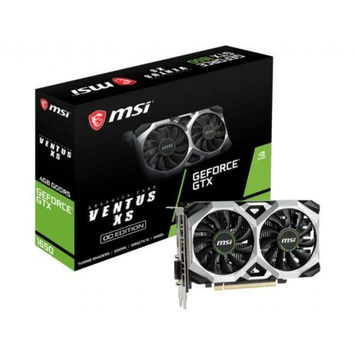 MSI GeForce GTX 1650 4GB GDDR6 Videokártya