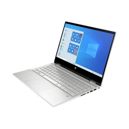 """HP Pavilion x360 14-dw0008nh, 14"""" FHD AG IPS 400cd, Core i5-1035G1, 8GB, 512GB SSD, Win 10, ezüst"""