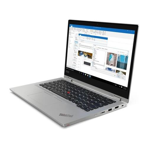 "LENOVO ThinkPad L13, 13,3"" FHD, Intel Core i7-10510U (4C, 4.90GHz), 8GB, 256GB SSD, Win10 Pro, ezüst"