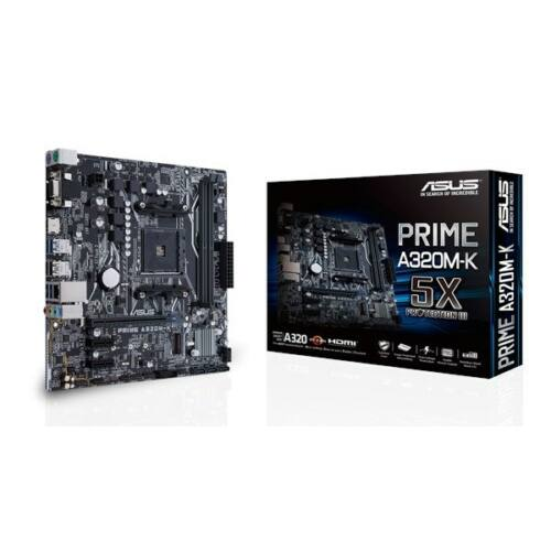 PRIME A320M-K AM4 A320 MATX SND+GLN+U3+M2 SATA 6GB/S DDR4