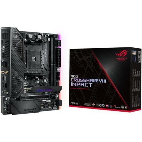 ASUS ROG Crosshair VIII Impact - AMD - Socket AM4 - AMD Ryzen - Socket AM4 - DDR4-SDRAM - DIMM (90MB11Q0-M0EAY0)