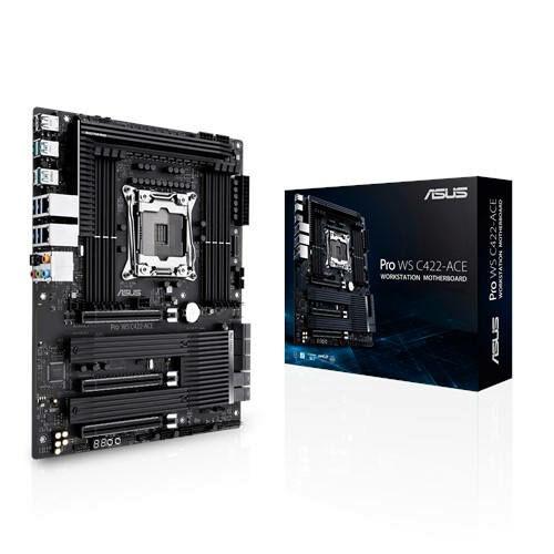 ASUS Pro WS C422-ACE - Intel - LGA 2066 - Intel Xeon W - DDR4-SDRAM - DIMM - 2133, 2400, 2666, 2933 MHz (90MB11Y0-M0EAY0)