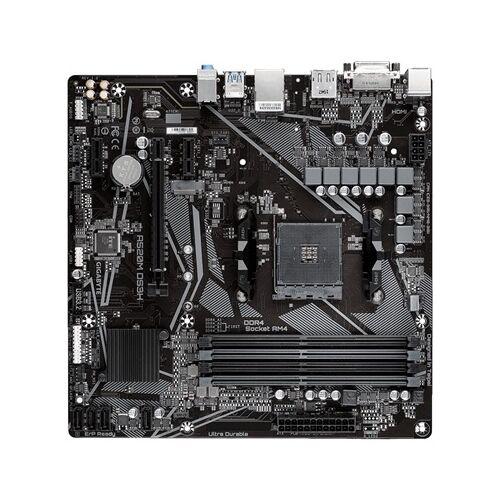 Gigabyte A520M DS3H - AMD - Socket AM4 - AMD Ryzen 3 3rd Gen - 3rd Generation AMD Ryzen 5 - 3rd Generation AMD Ryzen 7 - 3rd Generation AMD... - Socket AM4 - 128 GB - DDR4-SDRAM (A520M DS3H)