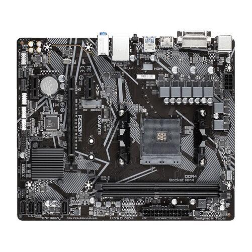 GIGABYTE Alaplap AM4 A520M H AMD A520, mATX