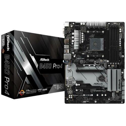 Asrock B450 PRO4 desktop alaplap ATX