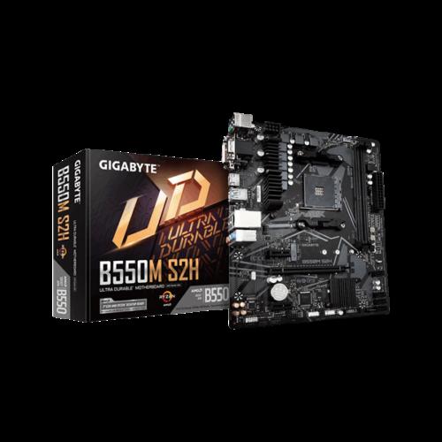 Gigabyte B550M S2H desktop alaplap microATX