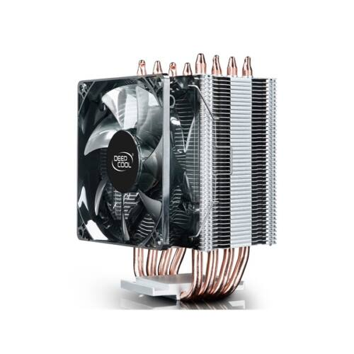 DeepCool CPU Cooler - GAMMAXX C40 (23,9dB; max. 56,06 m3/h; 4pin csatlakozó; 4 db heatpipe, 9cm, PWM)