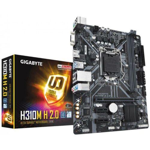 Gigabyte Alaplap - Intel H310M H 2.0 S1151 (H310, 2xDDR4 2666MHz, 1xGBE LAN, 4xSATA3, 6xUSB2.0, 4xUSB3.1)