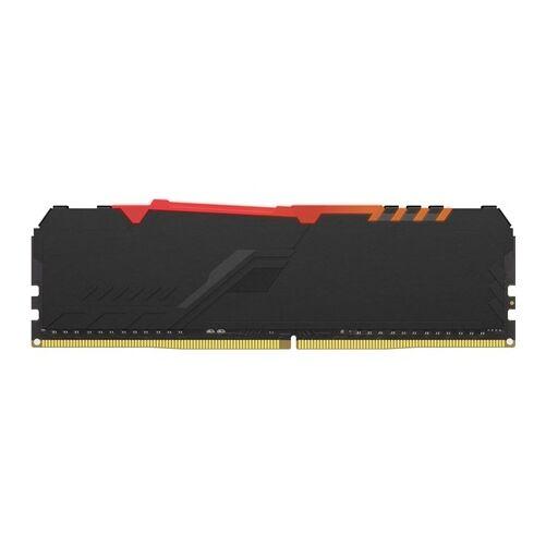 KINGSTON Memória HYPERX DDR4 8GB 3600MHz CL17 DIMM 1Rx8 Fury RGB