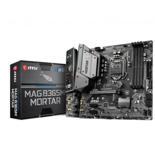 MSI Alaplap S1151 MAG B365M MORTAR Intel B365, mATX