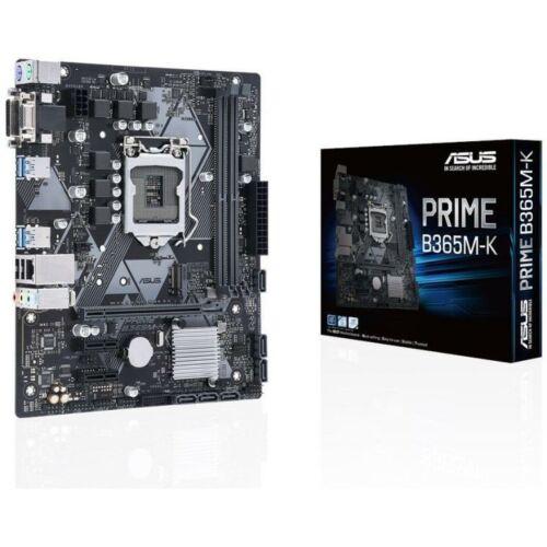 Asus PRIME B365M-K desktop alaplap microATX