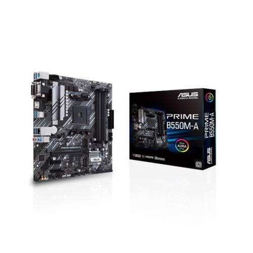 ASUS Alaplap AM4 PRIME B550M-A AMD B550, mATX