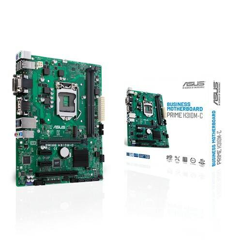Asus PRIME H310M-C R2.0 desktop alaplap microATX