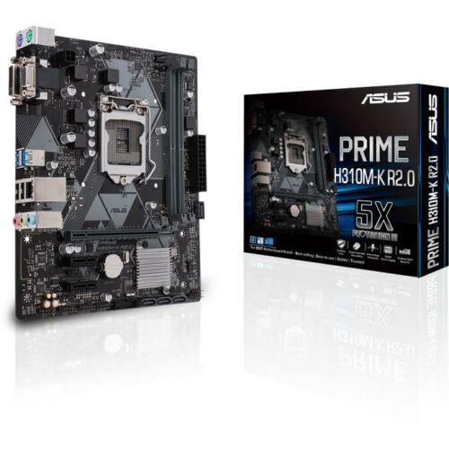 ASUS Alaplap S1151 PRIME H310M-K R2.0 INTEL H310, mATX