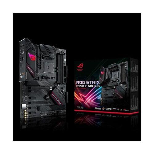 Asus Alaplap - AMD ROG STRIX B550-F GAMING AM4 (B550, 4xDDR4 5100MHz, 6xSATA3, 2x M.2, 6xUSB2.0, 8xUSB3.2)