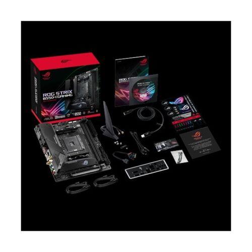 Asus Alaplap - AMD ROG STRIX B550-I GAMING AM4 (B550, 2xDDR4 5100MHz, 4xSATA3, 2x M.2, 4xUSB2.0, 7xUSB3.2)