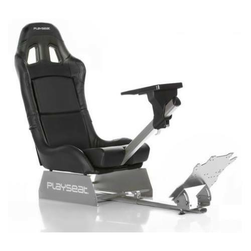 Playseat® Szimulátor cockpit - Revolution Black (Tartó konzolok: kormány, pedál, összecsukható, fekete) RR.00028