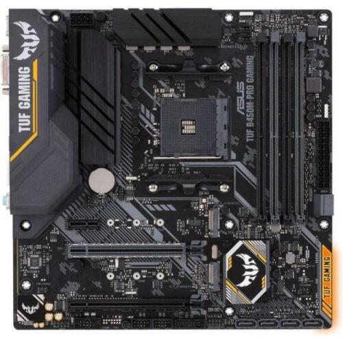 Asus Alaplap - AMD TUF B450M-PRO GAMING AM4 (B450, 4xDDR4 3533MHz, LAN, 6xSATA3, 3x M.2, 6xUSB2.0, 5xUSB3.1, Type-C)