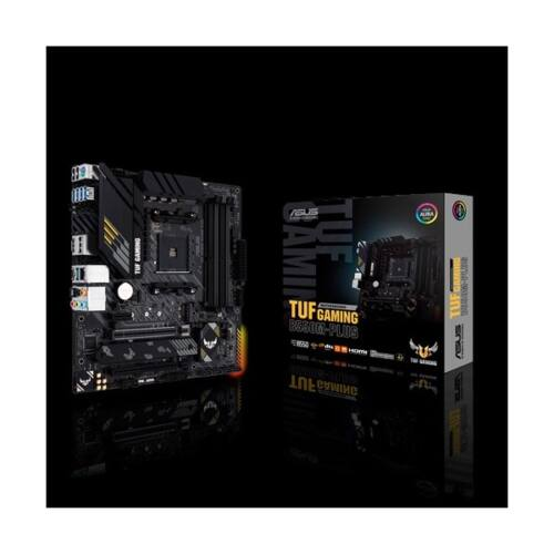 ASUS Alaplap AM4 TUF GAMING B550M-PLUS AMD B550, mATX