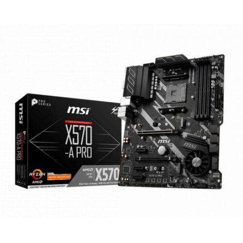 MSI X570-A PRO desktop alaplap ATX