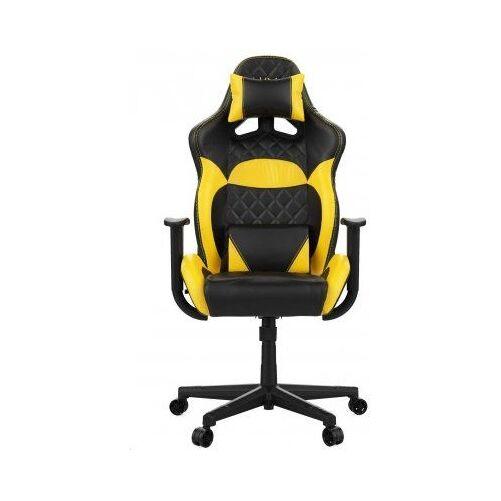 GCN Gamdias Zelus E1-L gaming szék - Sárga/fekete