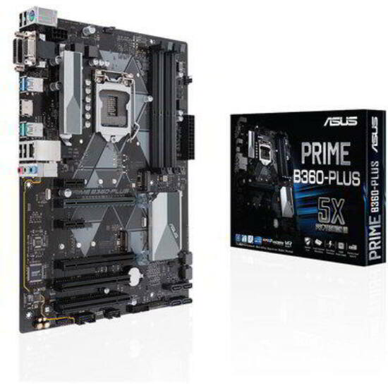 ASUS Alaplap S1151 PRIME B360-PLUS