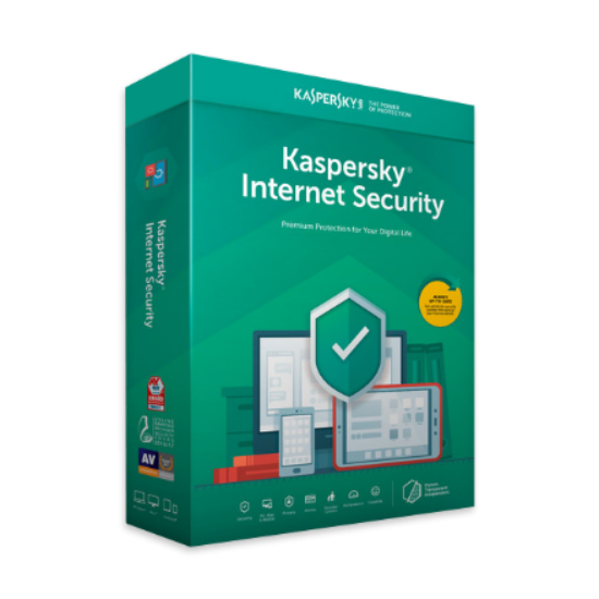 Kaspersky Internet Security – 1 évre, 5 eszközre