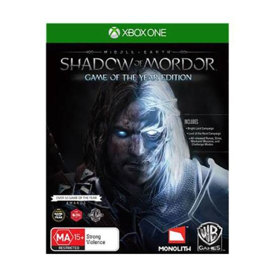 XBOX ONE MIDDLE-EARTH: SHADOW OF MORDOR GAME OF THE YEAR EDITION