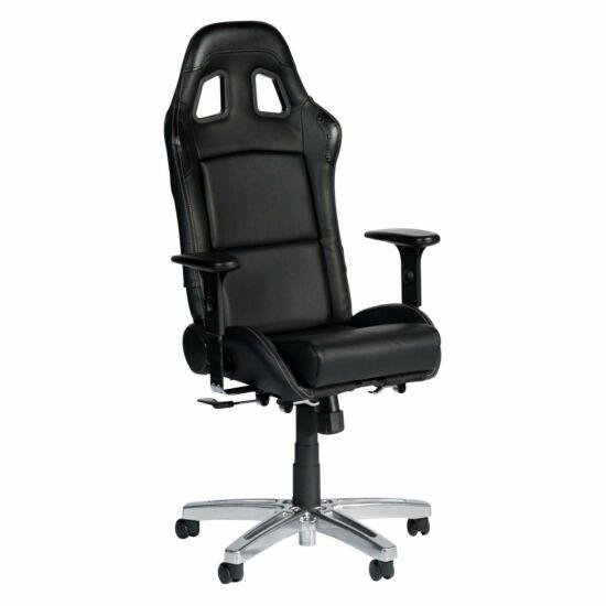 Playseat® Irodai/Gamer szék - Office Seat Black (állítható magasság, állítható karfa, fekete)