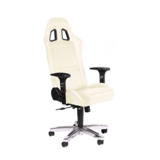 Playseat® Irodai/Gamer szék - Office Seat White (állítható magasság, állítható karfa, fehér)