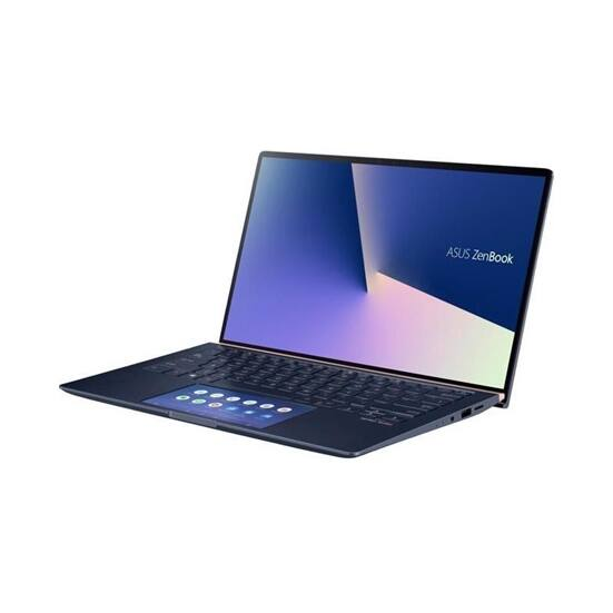 "ASUS NB ZenBook UX434FLC-A5217T 14"" FHD, i7-10510U (4,9GHz), 16GB, 256GB M.2, NV MX 250 2GB, WIN10, Kék"