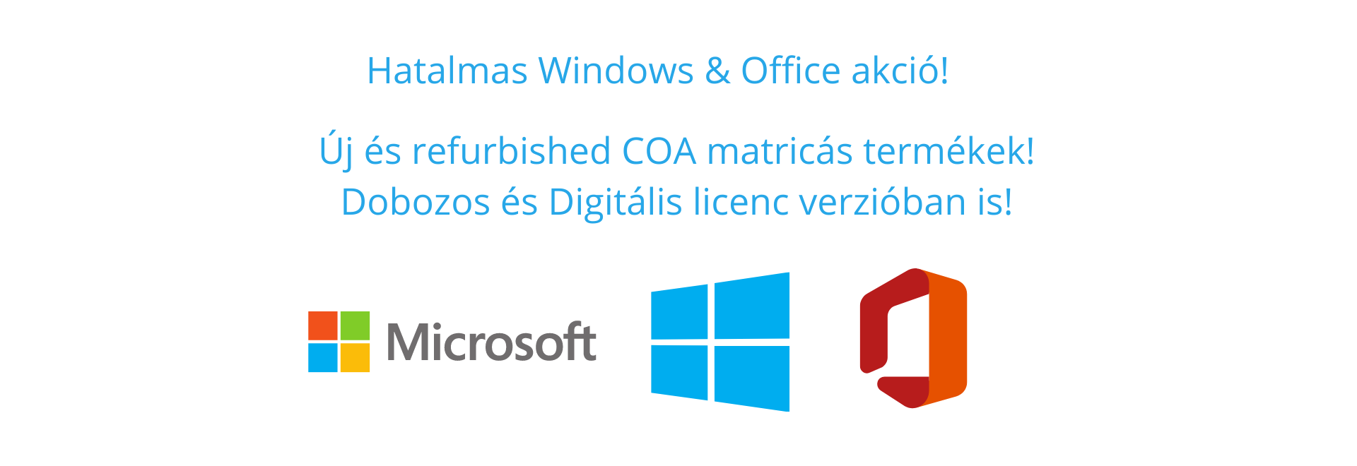 Windows akció